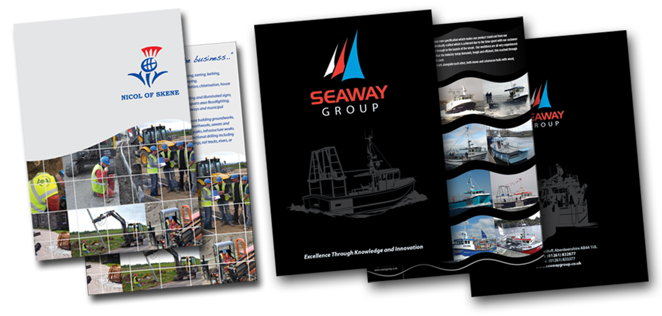 Brochures designed to your specifications