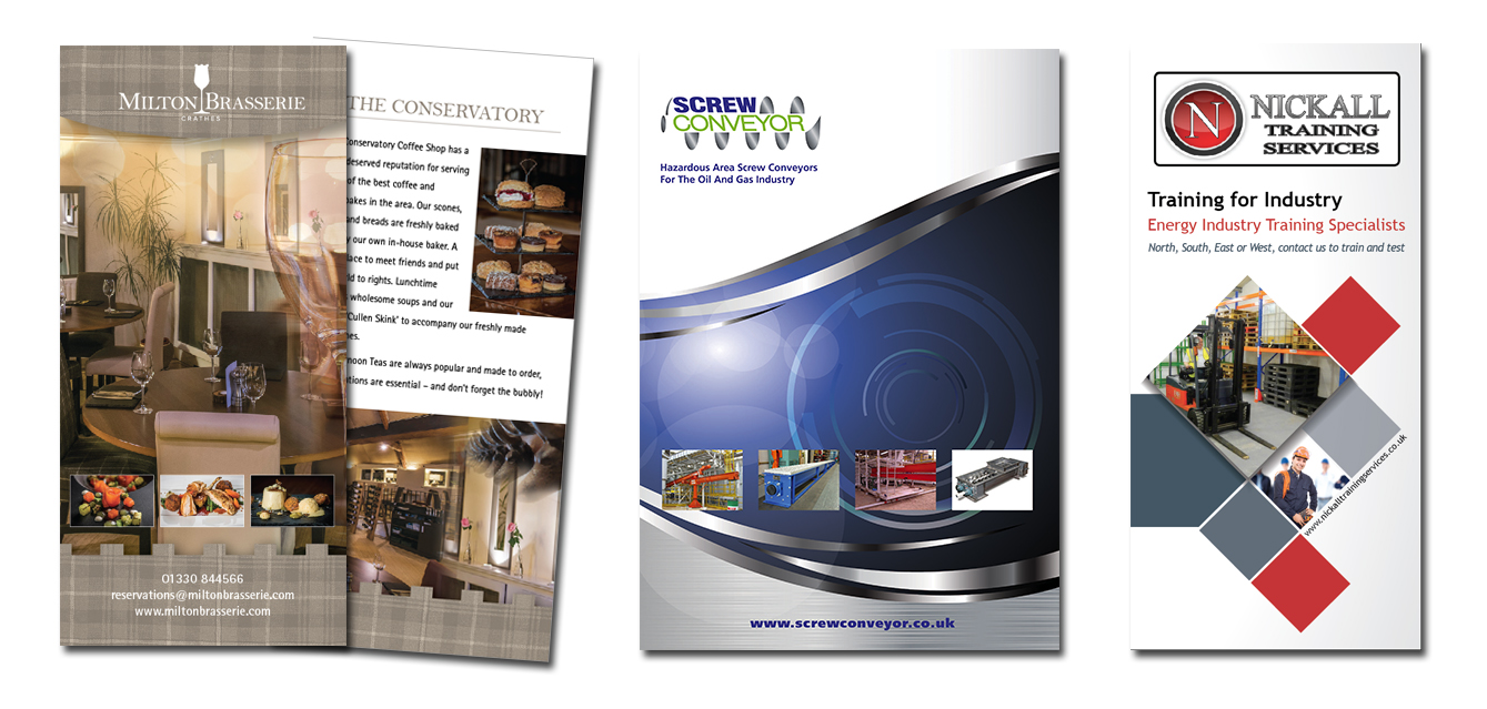 Brochures in all sizes