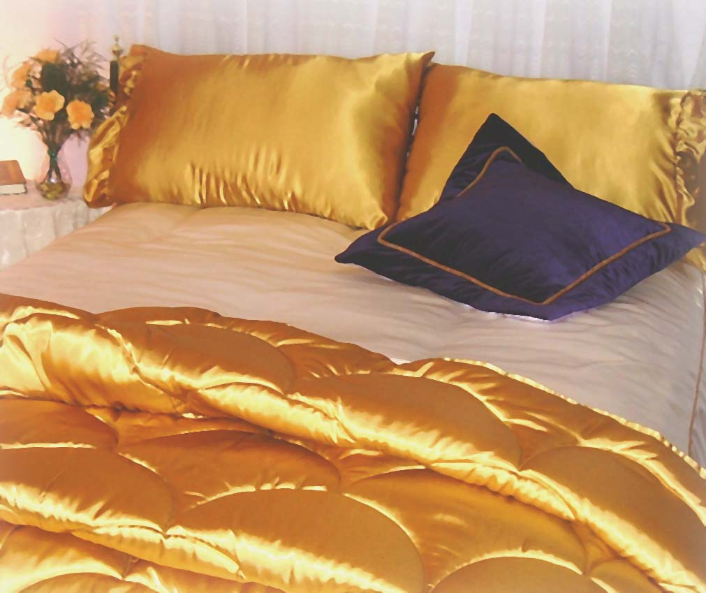 Gold Shell Polyester Comforter