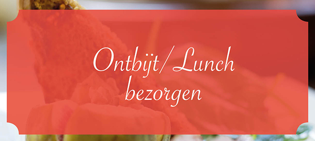 Catering Friesland  Ontbijt / Lunch