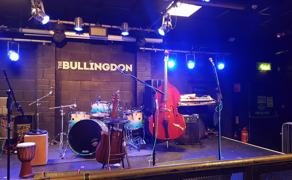Setting up at The Bullingdon