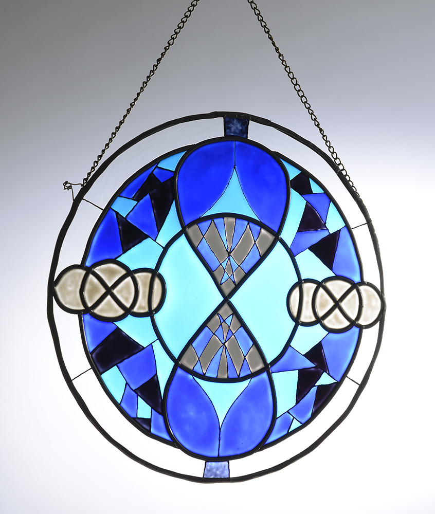 The Blue Crystal Sun Catcher