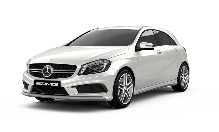Mercedes A45 AMG from £200 per day