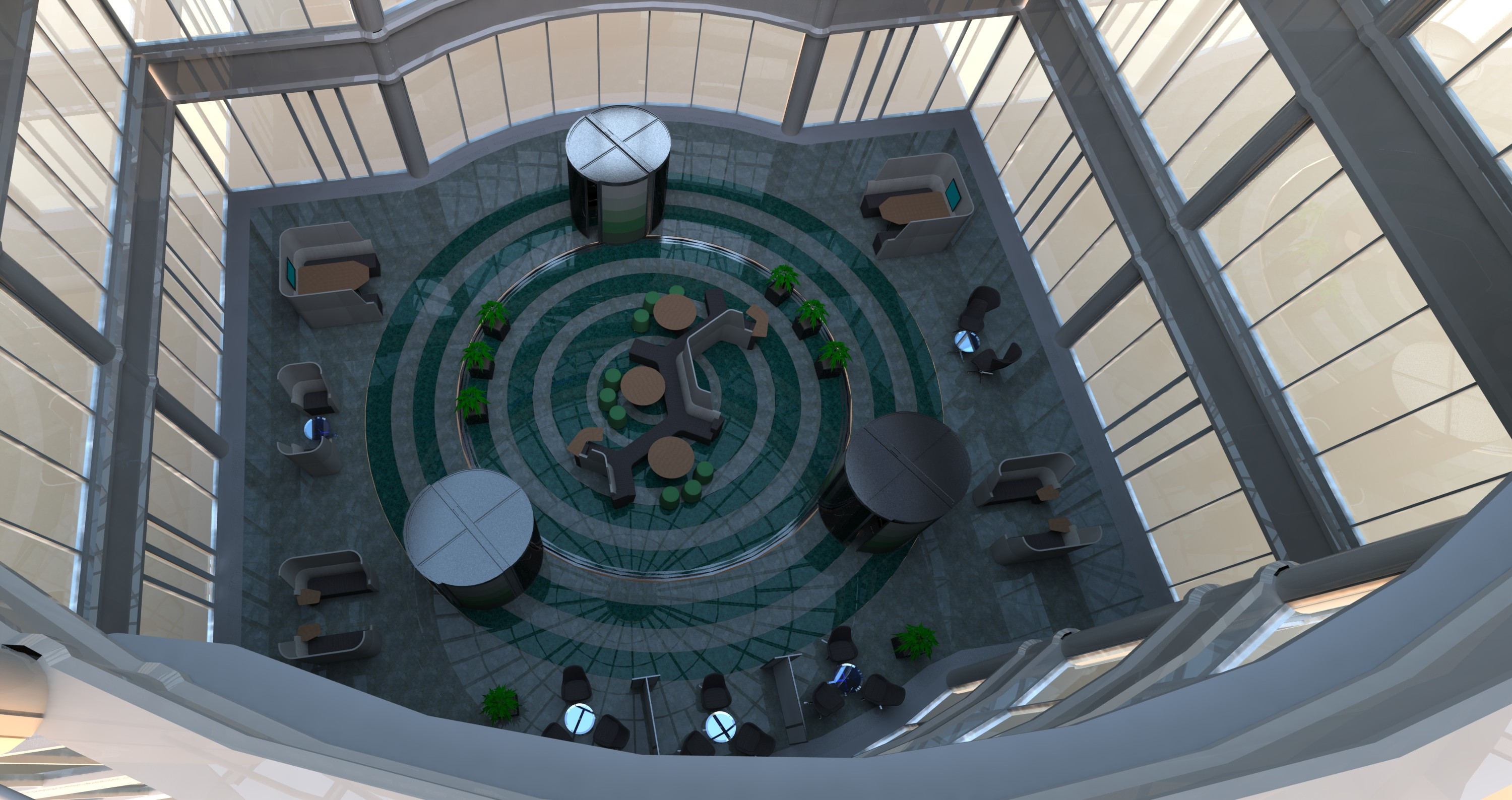 OPEN PLAN ATRIUM