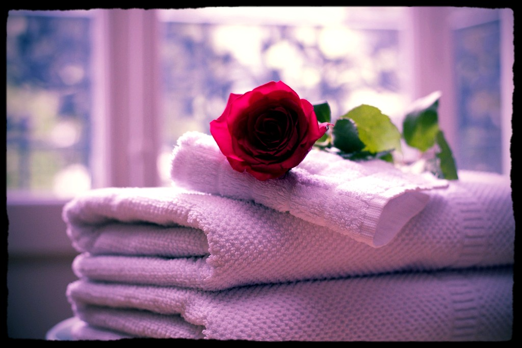 Clean Towels, fresh laundry ...