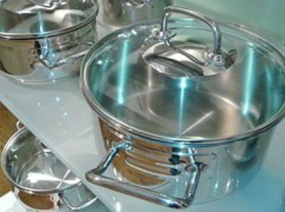 Shining stainless steel