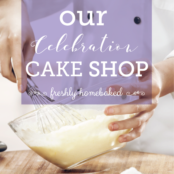 Our celebration cake shop
