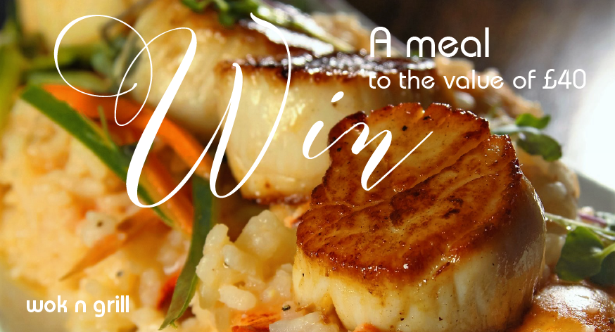 Win a meal to the value of £40