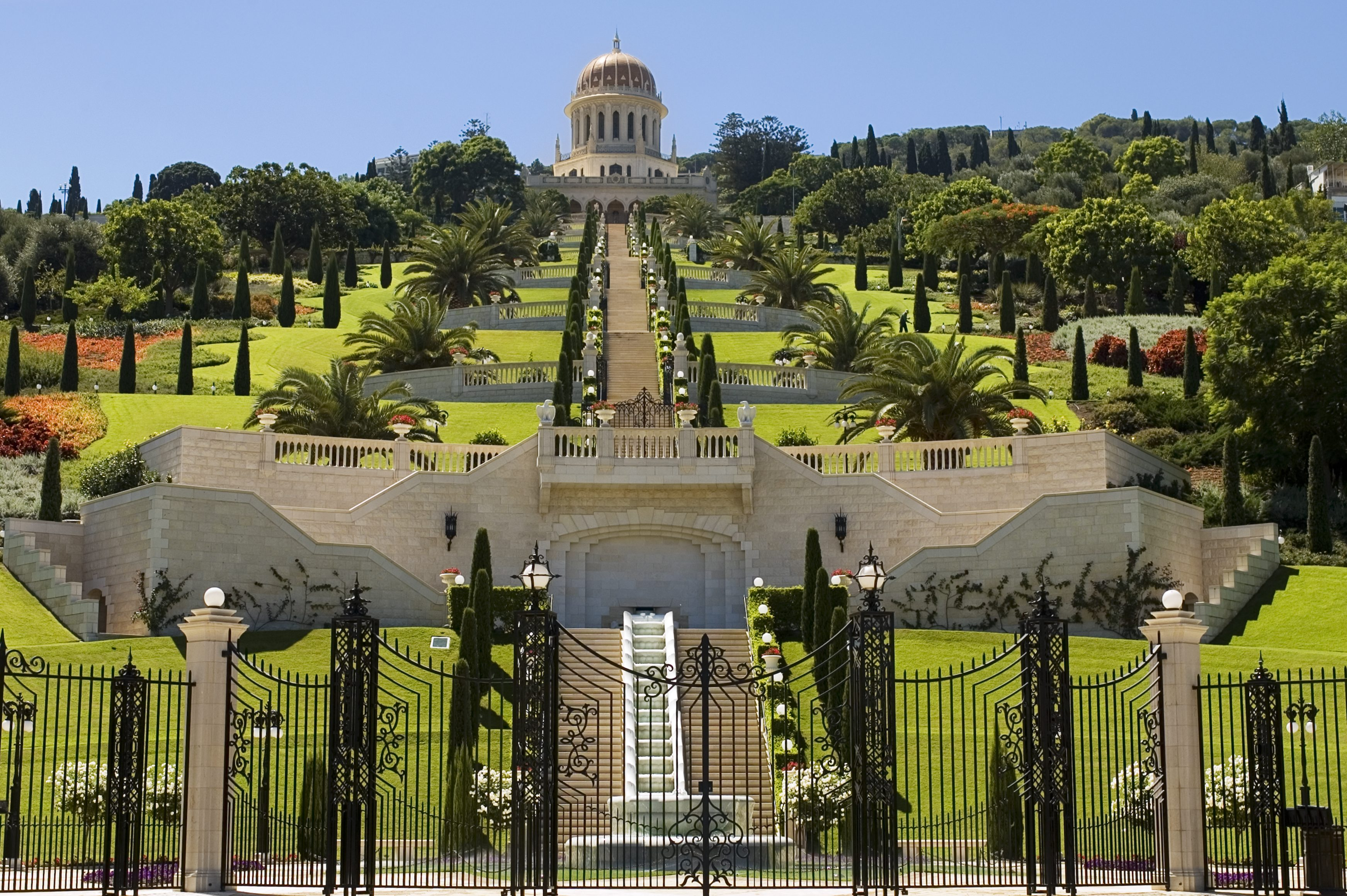 Bahai shrine and gardens, Haifa