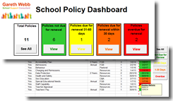 School Policy Dashboard