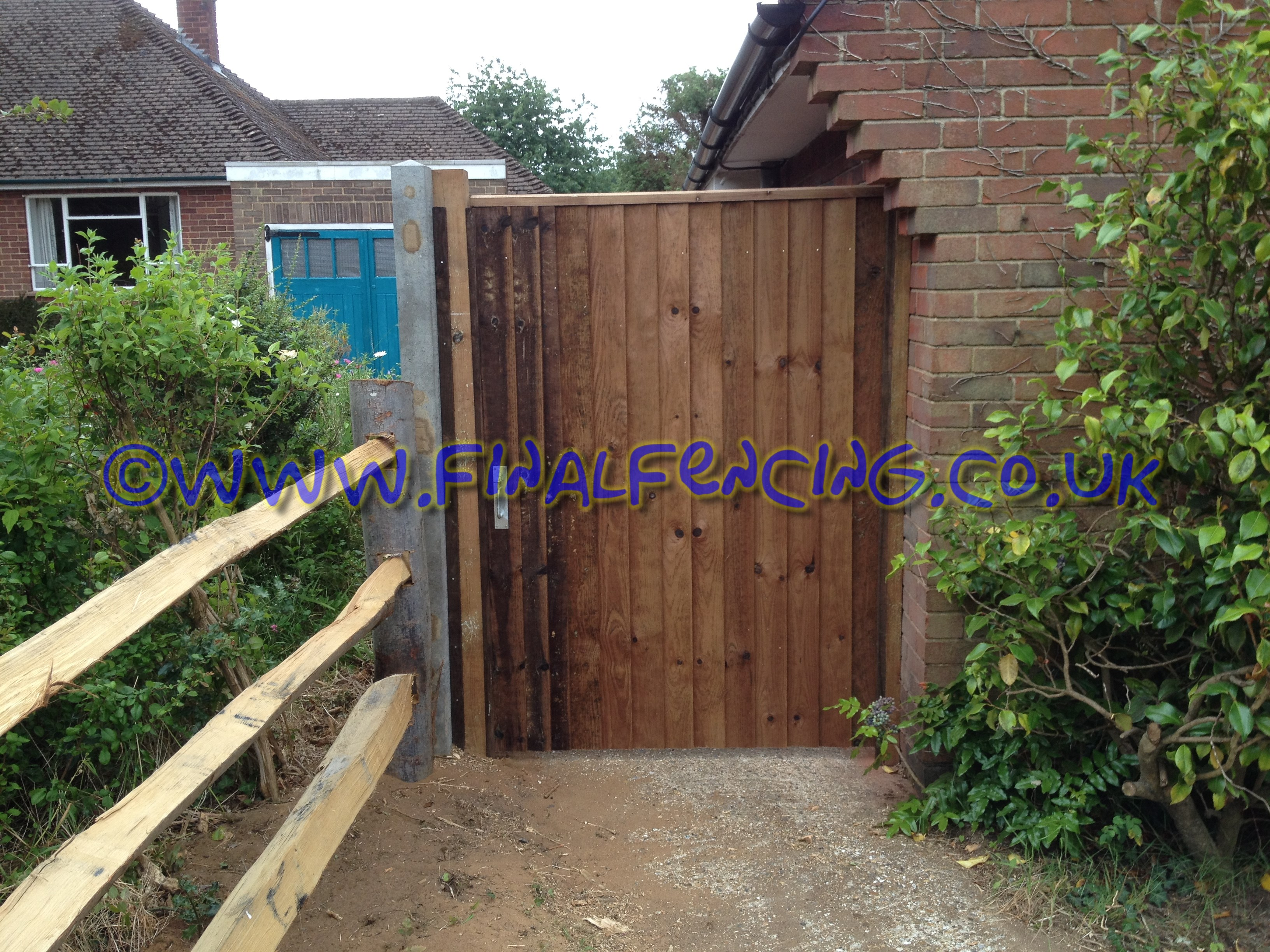 Extra Wide Closeboard Gate