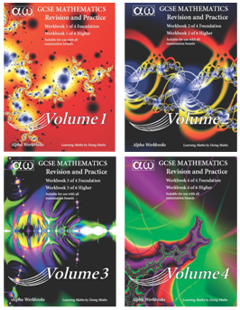 GCSE Mathematics Foundation Volumes 1-4