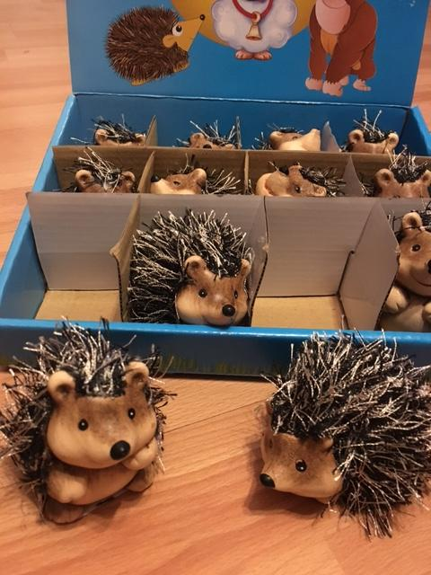 Hairy Hedgehog Ornament