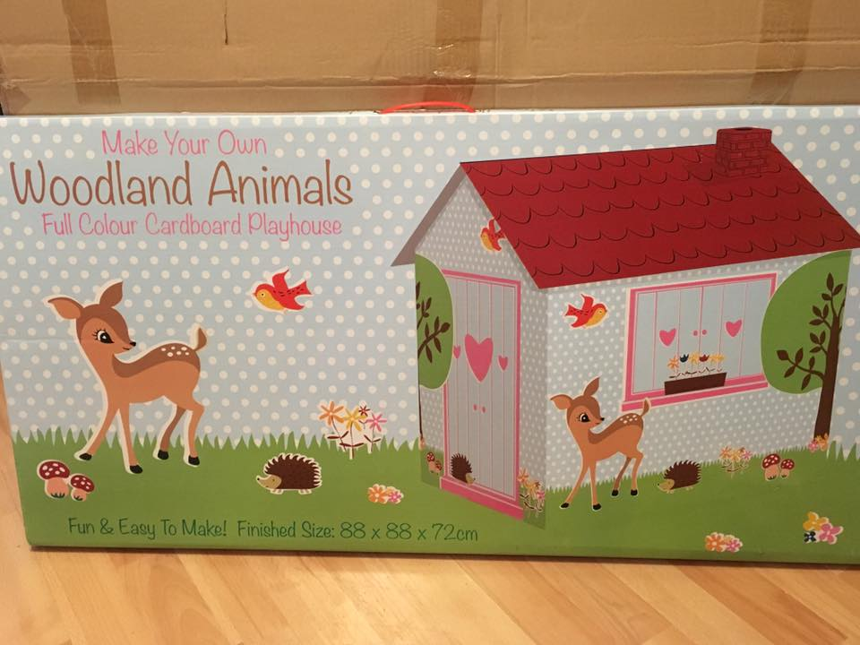 Woodland Animals Playhouse