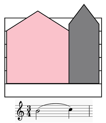 Colorsheetmusic slur notation
