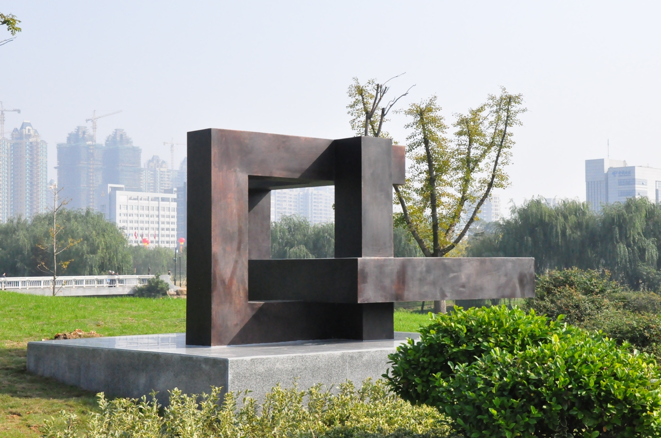 Dimension: 200x250x300cm Material: Bronze Tongling(China)2012