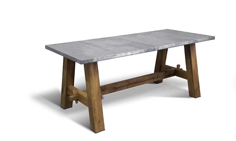 Zink table - 1,200 GBP