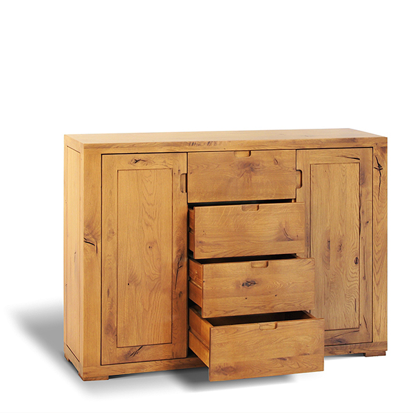 Chest with 2 doors and 4 drawers