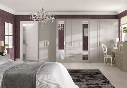 Shaker Bedroom Pietra Shaker Pietra Fitted Wardrobes