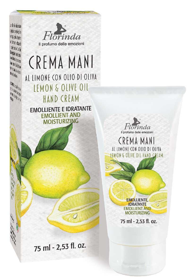 Crema mani al limone