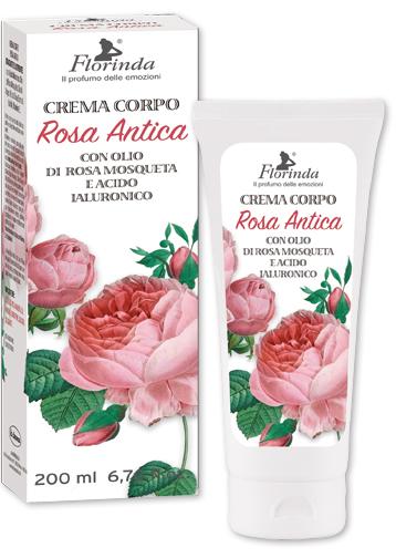 Crema corpo con olio di rosa mosqueta