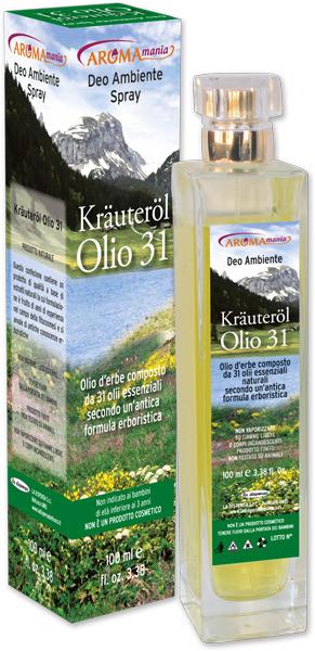 Krauterol spray ambiente 31 erbe