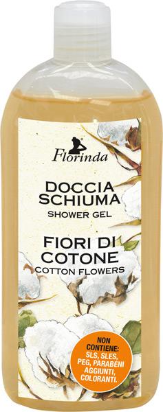 Doccia schiuma fiori di cotone