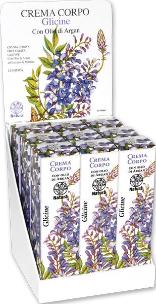 Expo crema corpo glicine con olio di argan