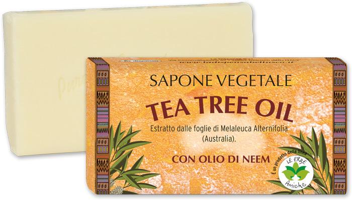 Sapone vegetale tea tree oil