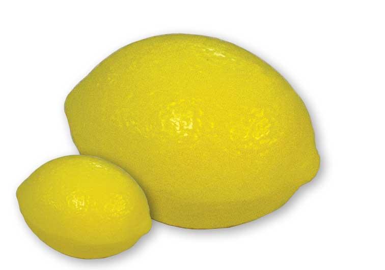 Sapone vegetale a forma di limone