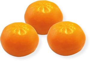 Sapone vegetale forma mandarino