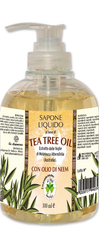 Sapone liquido tea tree oil