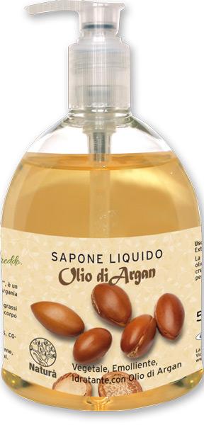 Sapone liquido con olio di argan