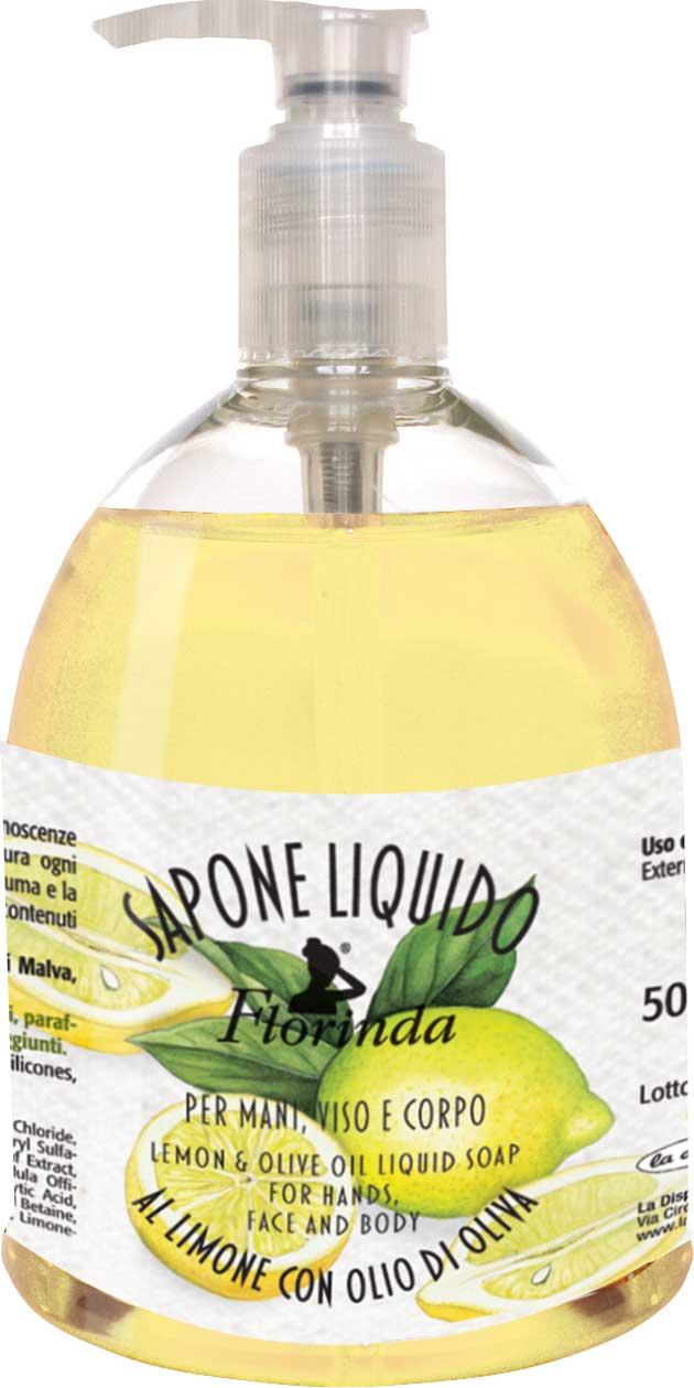 Sapone liquido al limone