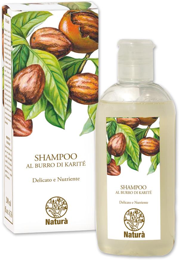 Shampoo al burro di karité