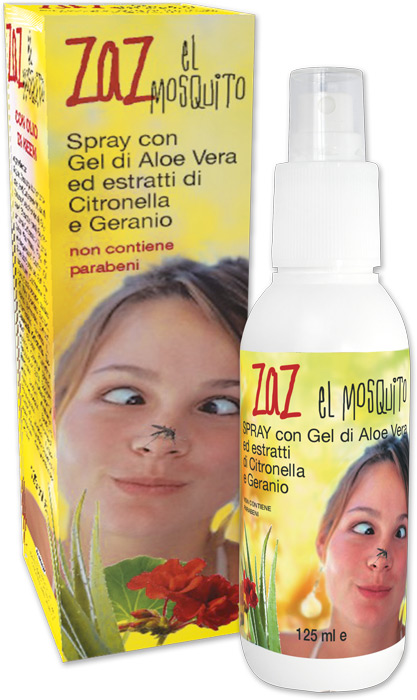 Zaz spray anti zanzare
