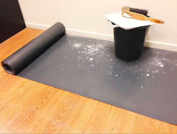 Always use Temporary Floor, Carpet, Window and Surface Protection Materials