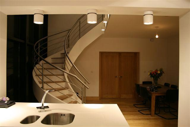 Bespoke Curved Concrete Stairs