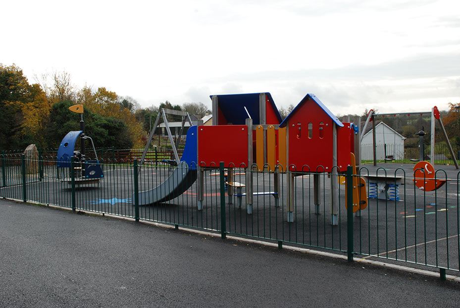 Playground Fencing by Fencing Matters