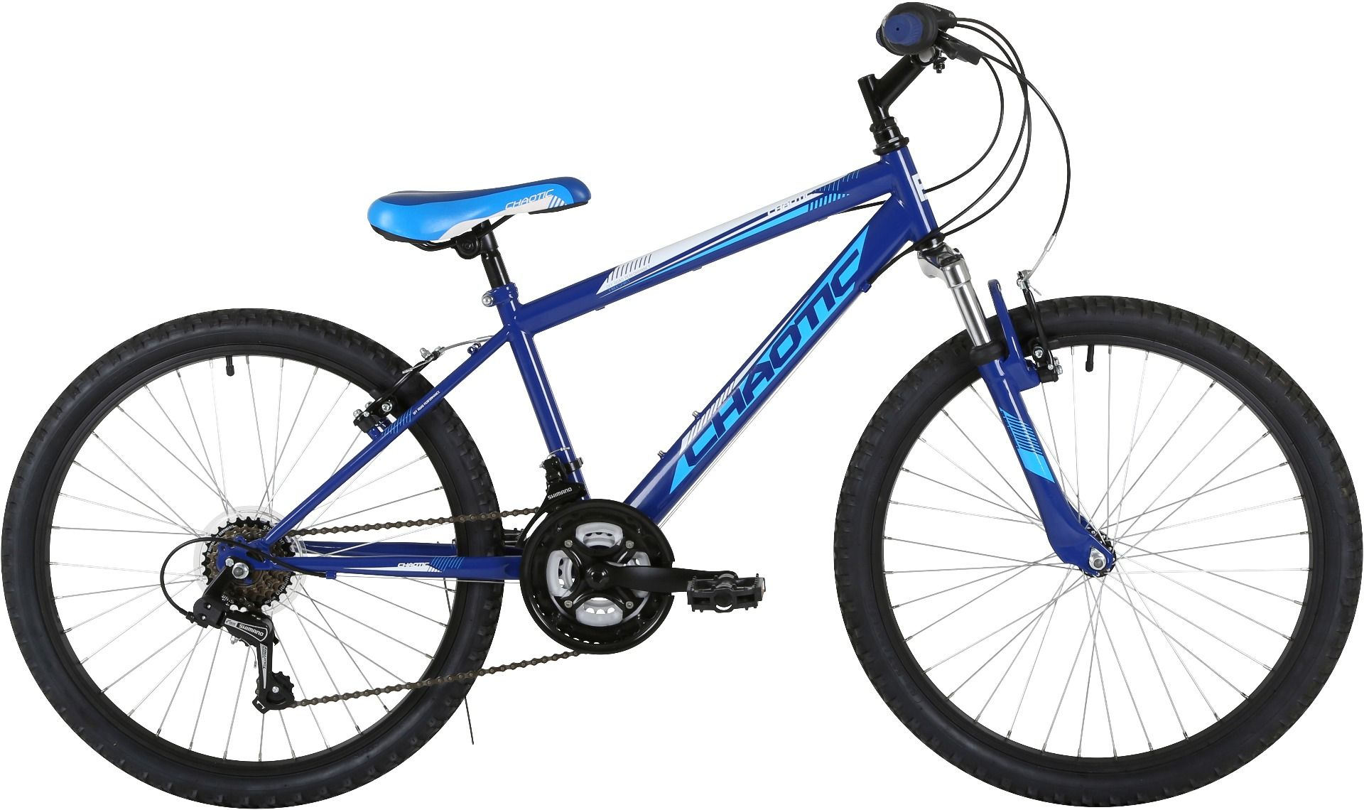 "Freespirit Chaotic 24"" Junior Boys Mountain Bike"