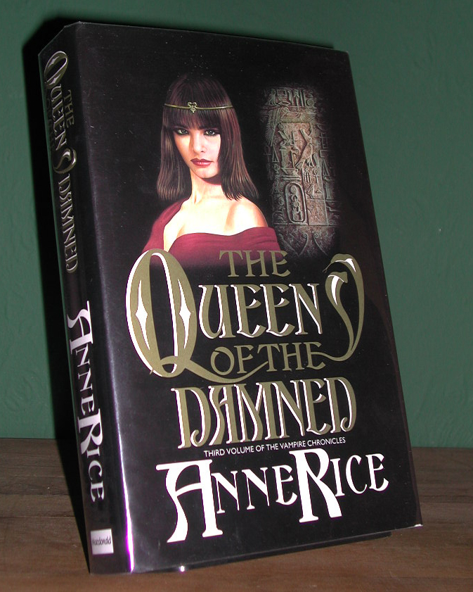 The Queen Of The Damned UK 1st Edition