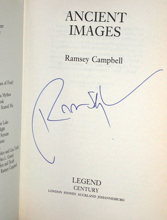 Ancient Images Signed UK 1st Edition