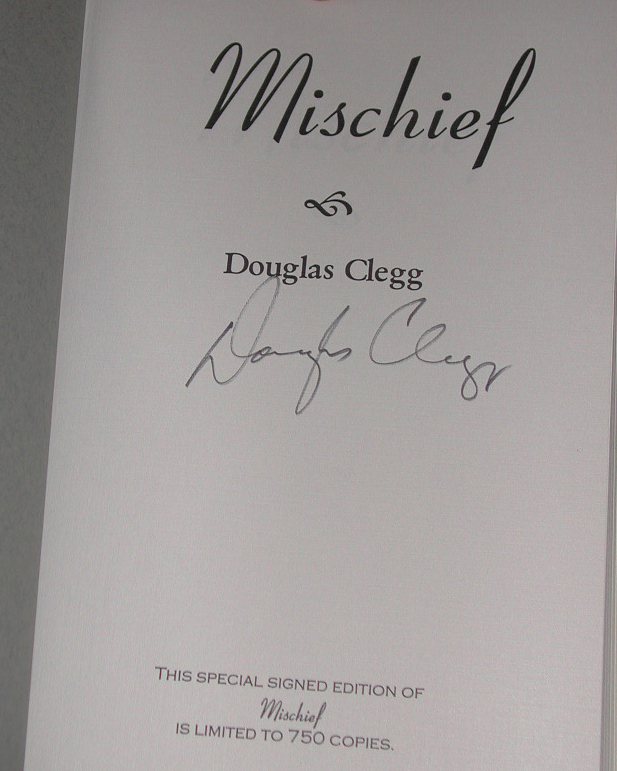 Mischief Signed Limited Edition