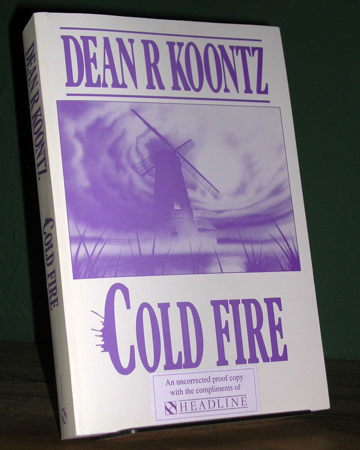 Cold Fire Signed Limited UK Proof