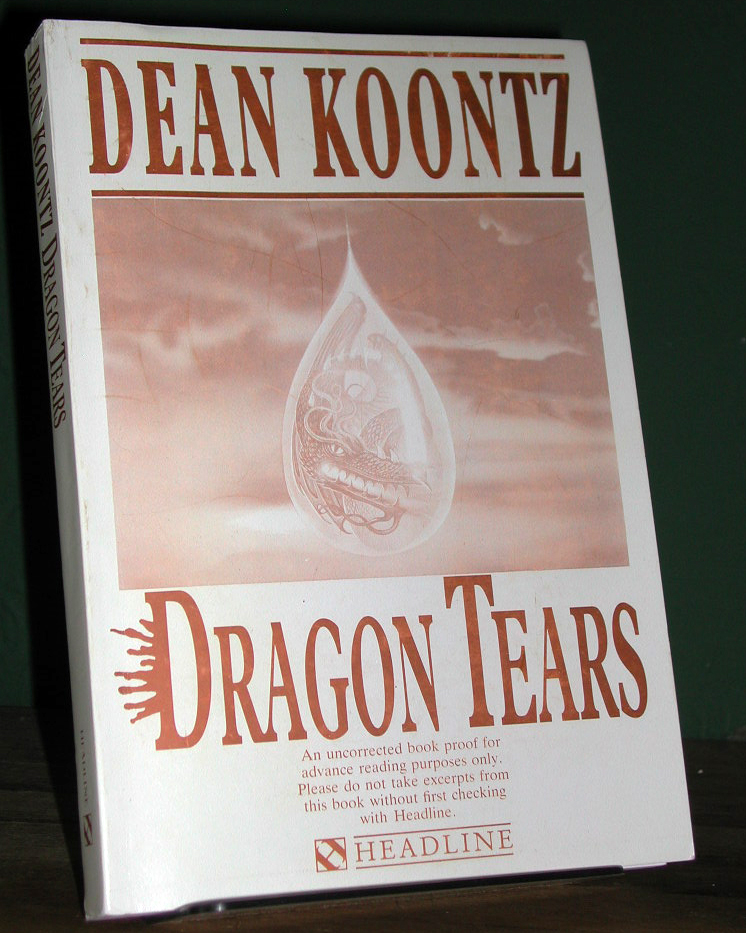 Dragon Tears Signed Limited UK Proof