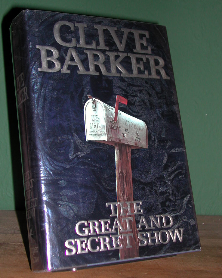 The Great And Secret Show Signed US 1st Edition