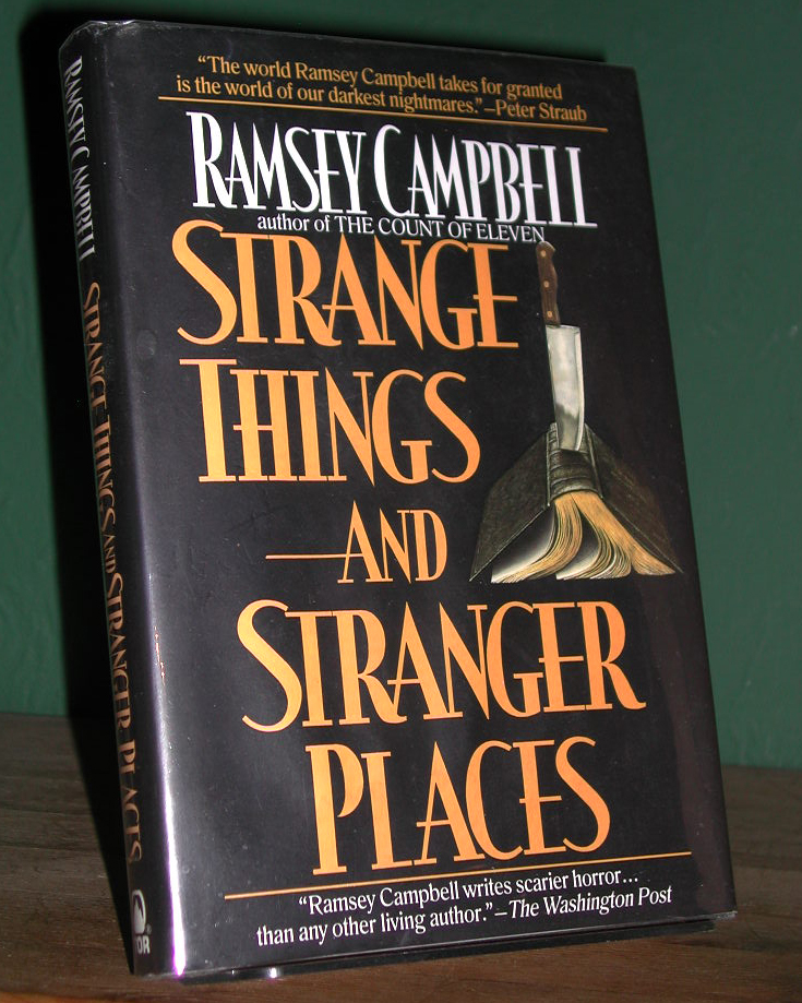 Strange Things And Stranger Places Signed US 1st Edition