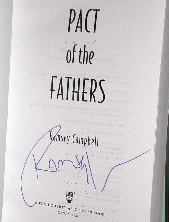 Pact Of The Fathers Signed US Proof