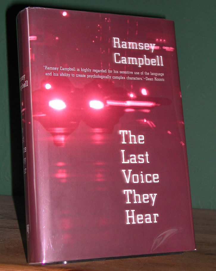 The Last Voice They Hear Signed US 1st Edition