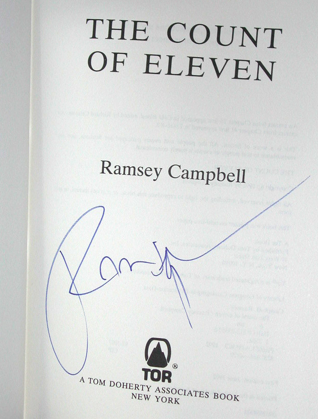 The Count Of Eleven US 1st Signed